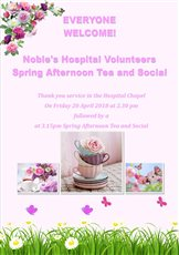 Hospital volunteers to be celebrated