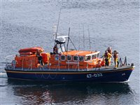Lifeboat launched after someone is heard calling for help