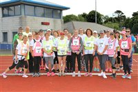 School staff step out to support Manx Telecom Parish Walk