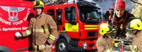 Tumble dryer fire sparks warning