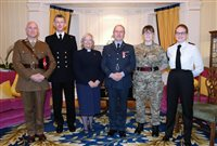 Island Cadet honoured for his work