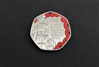 Students to receive minted coin to mark Armistice Day