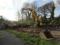 Construction starts on Hills Meadow flood defence