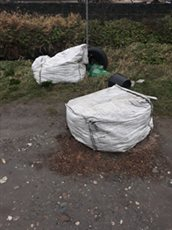 Police investigate fly-tipping at Island beauty spot