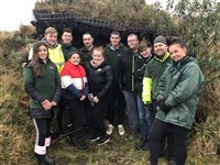 Volunteers dig deep at Community Farm
