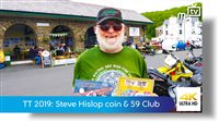 Steve Hislop memorial coin & 59 Club sixty years cover
