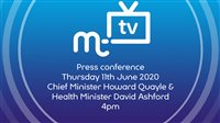 Coronavirus press conference Thursday