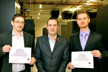 Manx Telecom technicians gain exclusive 'Red Hat' qualification