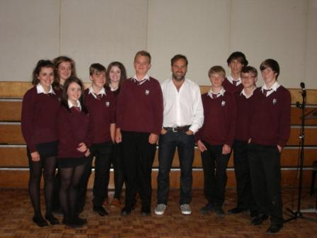 Queen Elizabeth II High School welcomes space tourist, Mark Shuttleworth