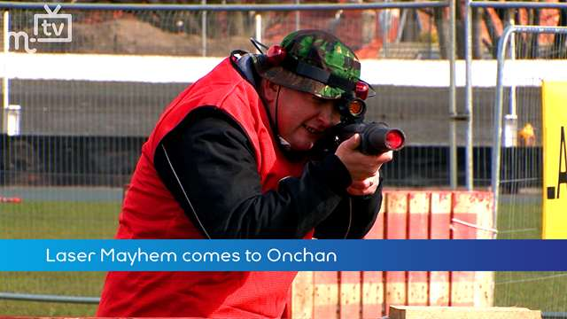 Preview of - Laser Mayhem comes to Onchan