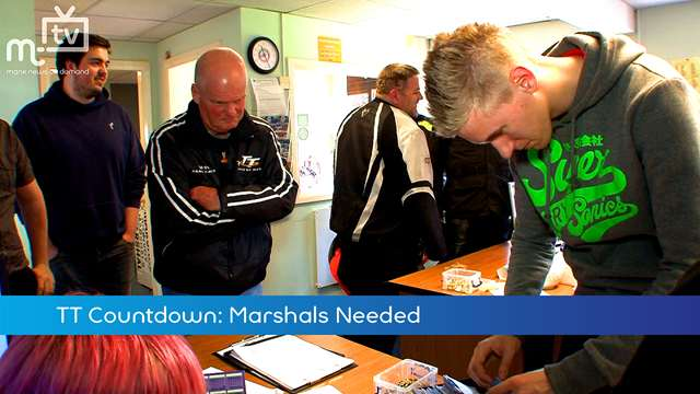 Preview of - TT Countdown: Marshals Needed