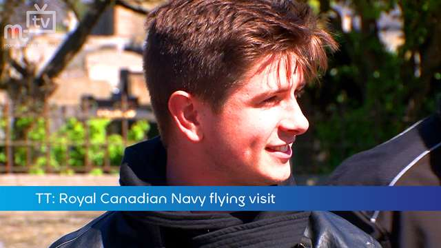 Preview of - TT: Royal Canadian Navy flying visit