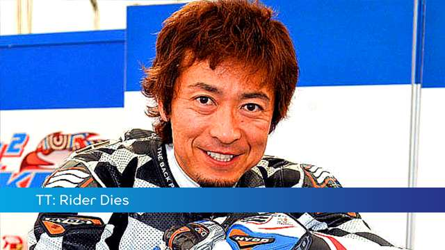 Preview of - TT: Japanese rider dies