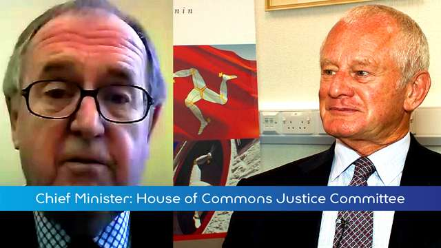 Preview of - Chief Minister Briefing: UK Justice Committee meeting