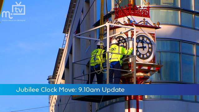 Preview of - Jubilee Clock Move: 9am Update