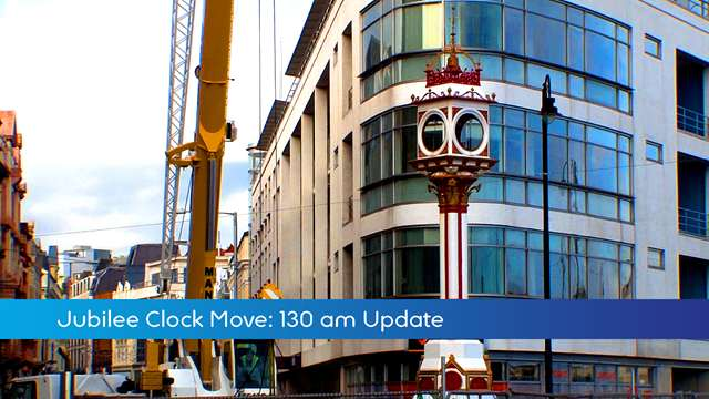 Preview of - Jubilee Clock Move: 11.30 update