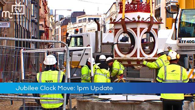 Preview of - Jubilee Clock Move: 1pm Update