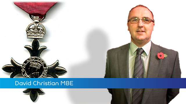 Preview of - David Christian MBE
