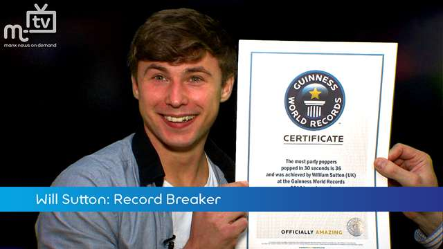 Preview of - Will Sutton: Record Breaker