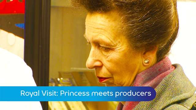 Preview of - Royal visit: Princess meets local producers
