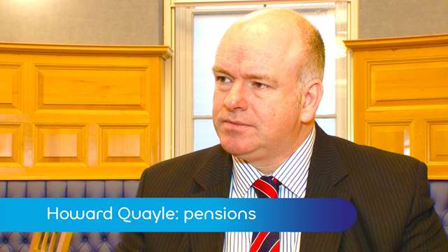 Preview of - Quayle: pension debate