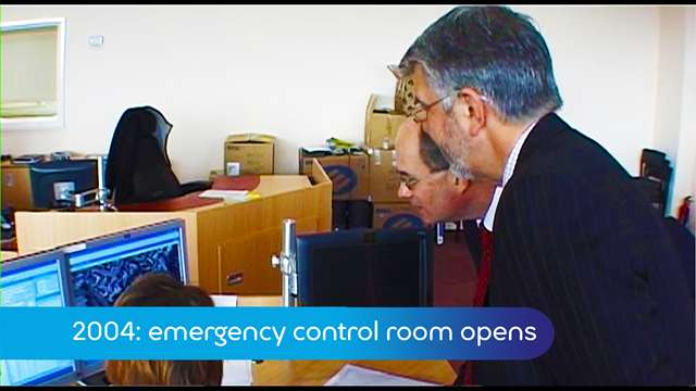 Preview of - 2004: Emergency control room opens