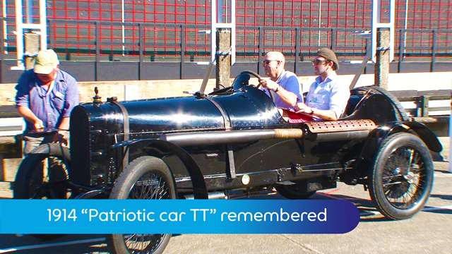 Preview of - Patriotic car TT remembered