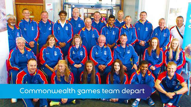 Preview of - Commonwealth Games team departs