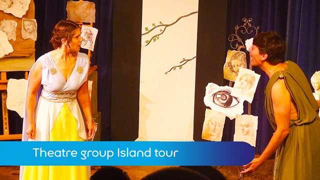 Preview of - Theatre group Island tour