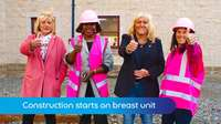 MTTV archive: New breast unit building starts