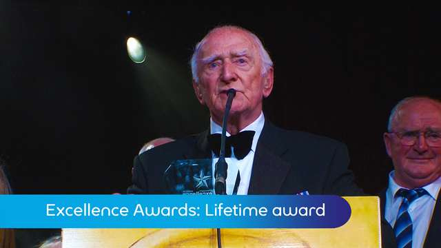 Preview of - Excellence Awards: lifetime achievement award