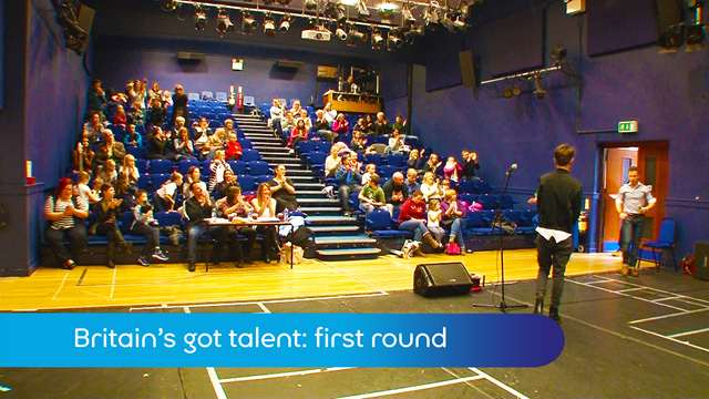 Preview of - Britain's got talent: first round