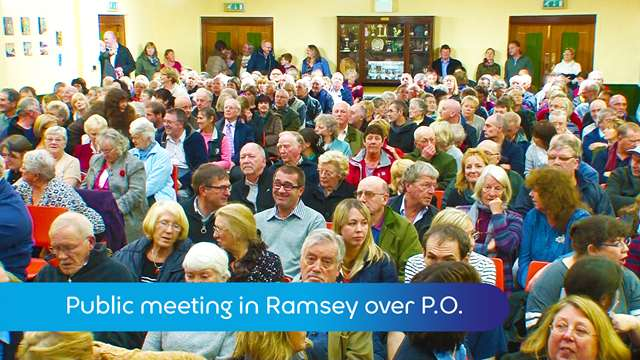 Preview of - Big turn out for Ramsey P.O.meeting