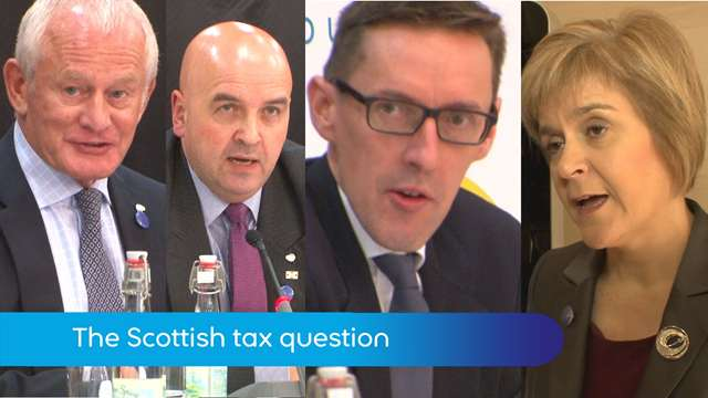 Preview of - British-Irish Conference: Scottish tax rate