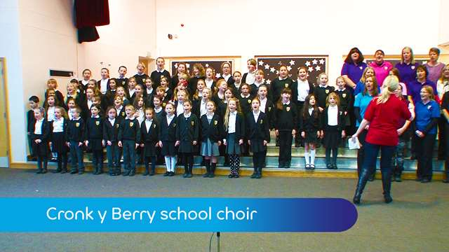 Preview of - Cronk y Berry school choir