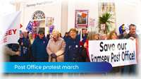 MTTV archive: Ramsey Post Office protest march