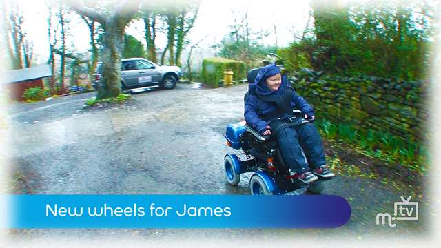 Preview of - New wheels for James