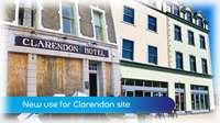 New use for Clarendon Hotel site