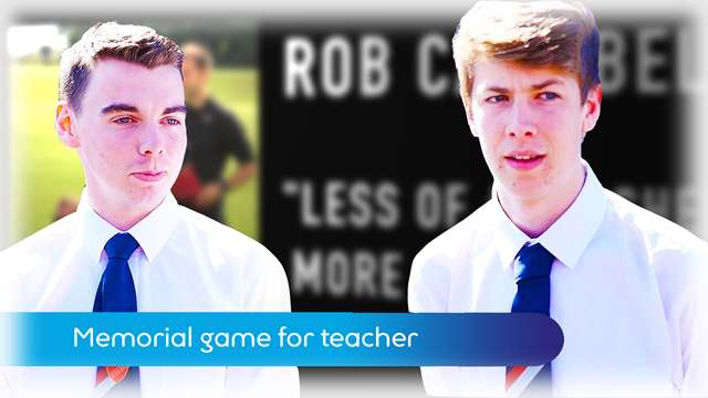 Preview of - Memorial game for teacher