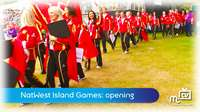 Island Games: opening ceremony