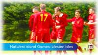 Island Games mens football vs Western Isles