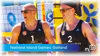 Island Games: beach volleyball