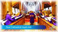 Peel Cathedral royal visit