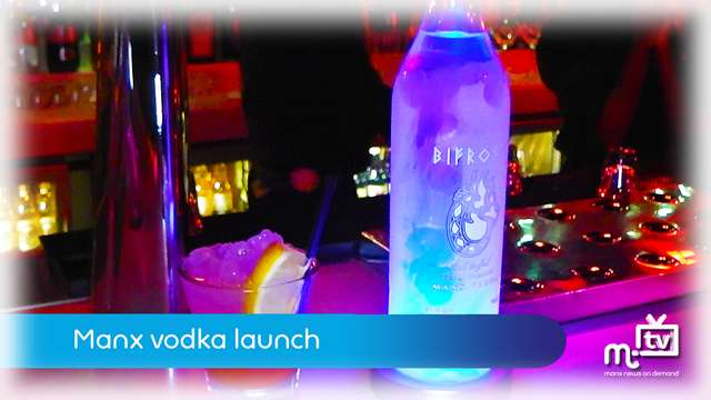 Preview of - Manx vodka launch