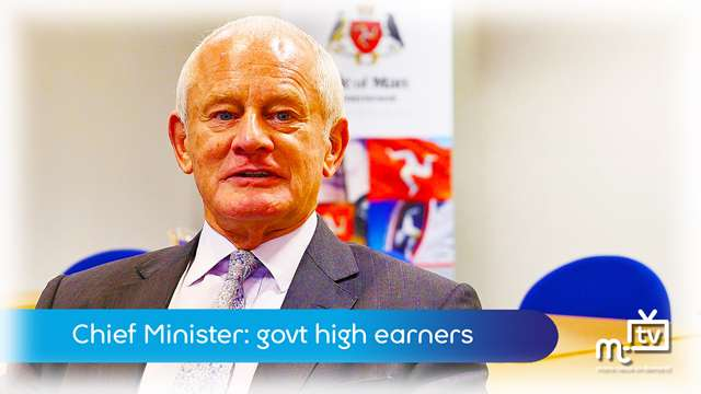 Preview of - Chief Minister: high earners