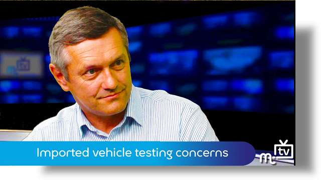 Preview of - Imported vehicle testing concerns