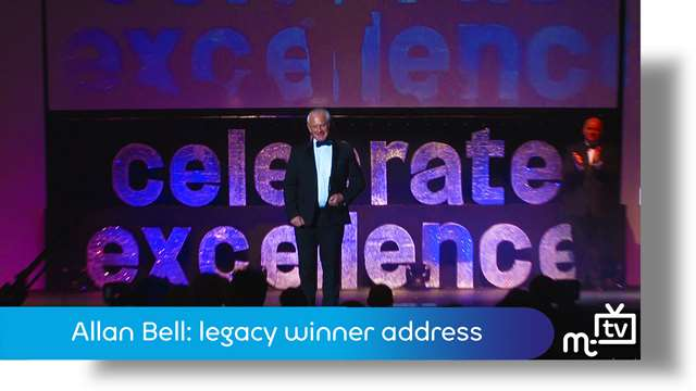 Preview of - Legacy award: Allan Bell