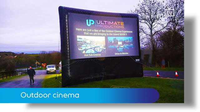 Preview of - Outdoor cinema