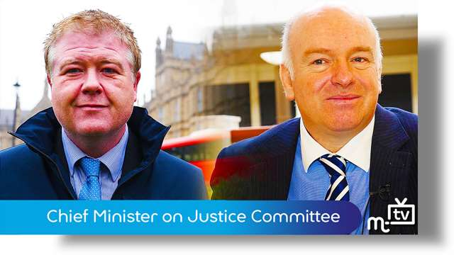 Preview of - Chief Minister on Justice Committee visit