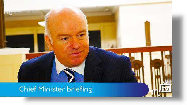 Preview of - Chief Minister briefing